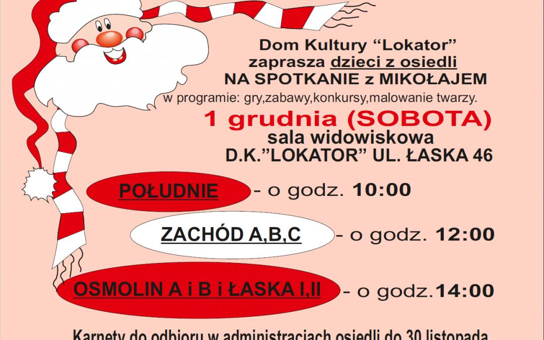 Mikołaj w Lokatorze!