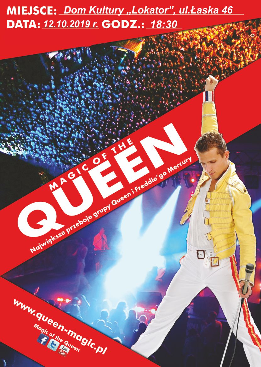 KONCERT MAGIC OF THE QUEEN!