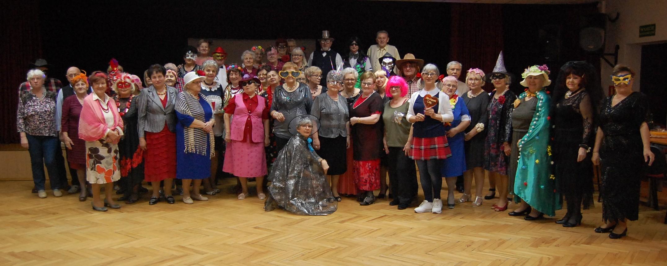 BAL PRZEBIERAŃCÓW Osiedlowego Klubu Seniora