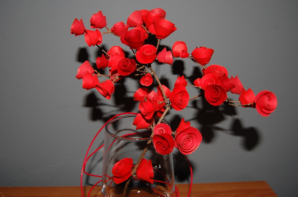 Quillingowa róża