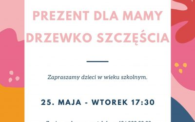 Warsztaty plastyczne dla dzieci z okazji Dnia Matki